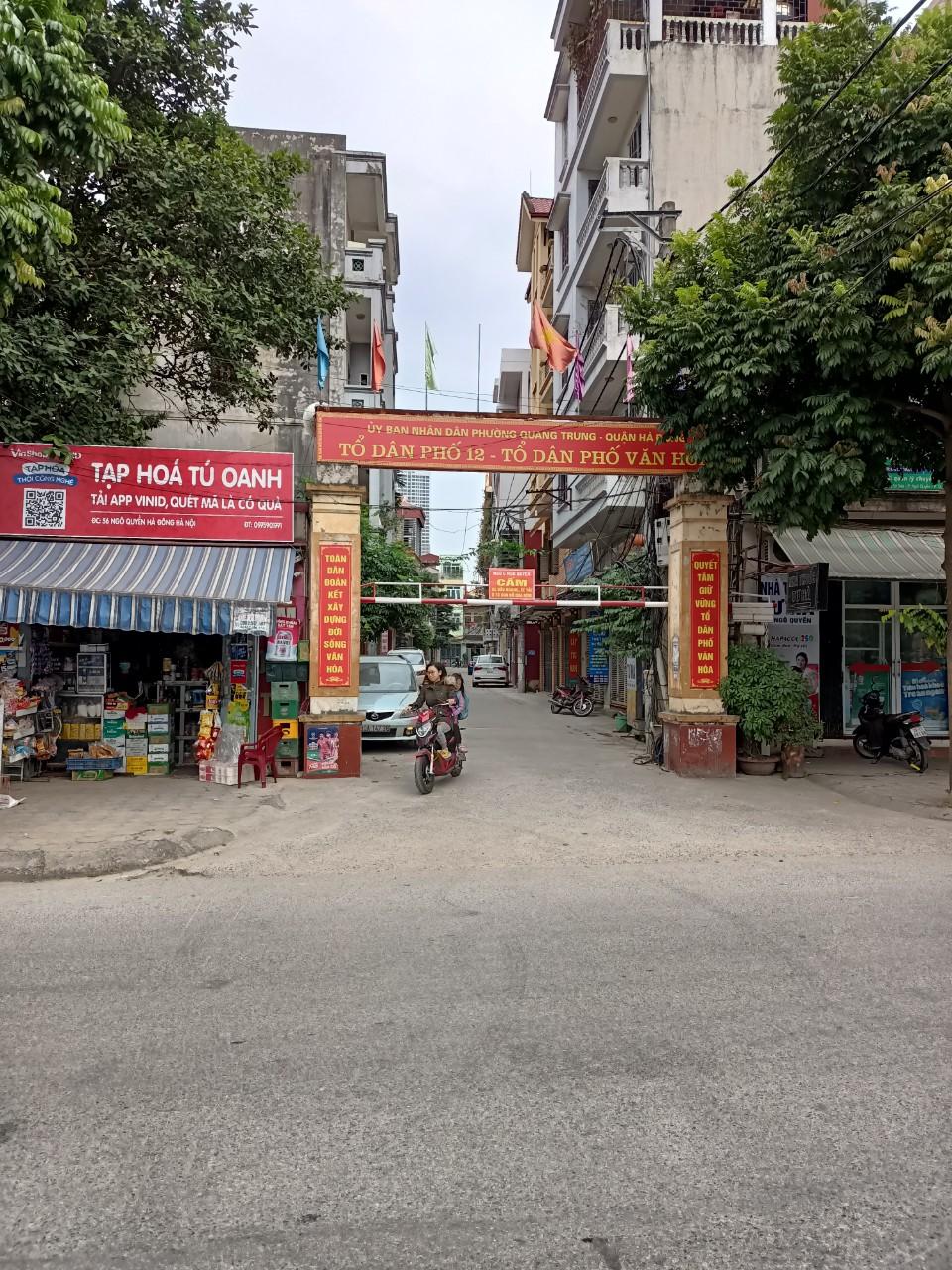 Nhà Riêng 5 tầng Xây BÁN tại dãy A3-A4 ngõ 6, Phố Ngô Quyền - Quang Trung – Hà Đông – Hà Nội (ĐÃ BÁN HẾT)